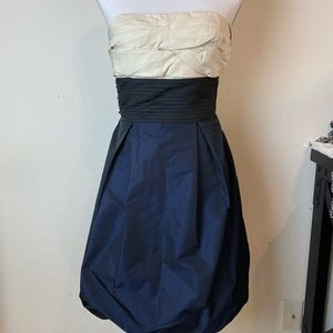 BCBG bubble hem strapless dress Sz 4